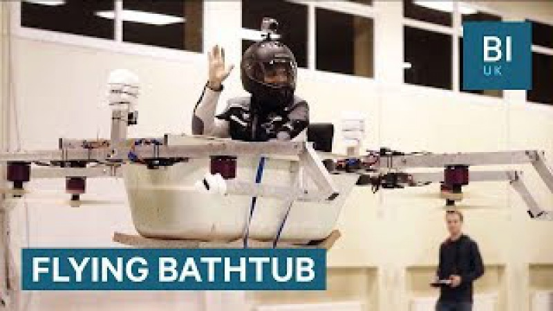 How two German brothers turned a bathtub into a drone