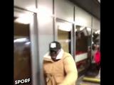 LFC fan Adebayo Akinfenwa's reaction to Mo Salah's goal. 😅🔥👏