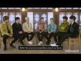 180222 BTS Teaches Fans How to Say Popular Korean Phrases @ Billboard