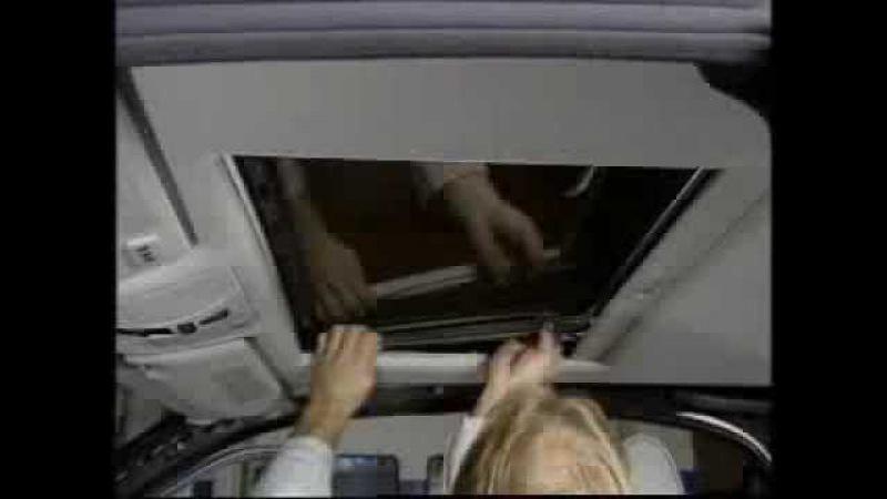 Mercedes w210 - trapa plafon ( partea 2 / 8 ) - clubmercedes.ro