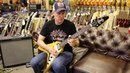 Guitar Close Up - Joe Bonamassa playing 1958 Gibson Korina V Reissue $7500