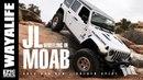 MOAB : IT STARTS AGAIN - Part 1 / JEEP JL WRANGLER on Gold Bar Rim Golden Spike Trail