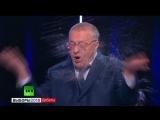 Перепалка Собчак и Жириновского на дебатах