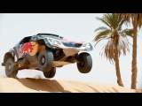 Team Peugeot Total testing their 3008DKR Maxi   Rally Dakar 2018