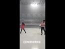 Instagram - Евгения Мкдведева репетиция THIN-Q ICE FANTASIA