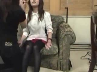 Bts red skirt white shirt tights