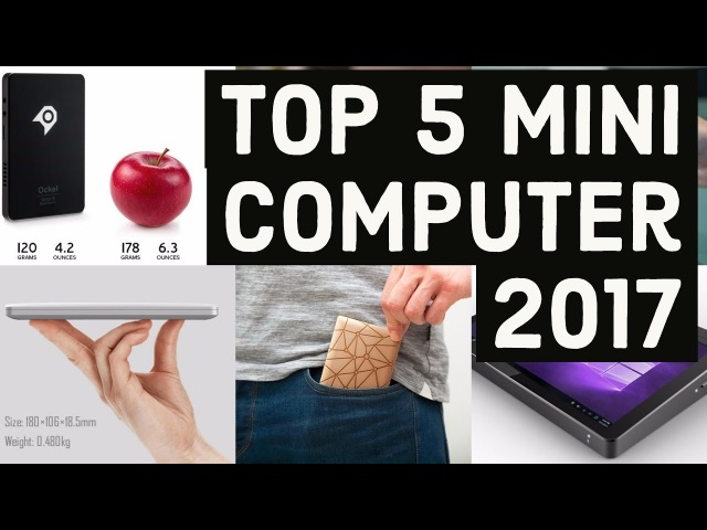Top 5 Mini Computer 2017 GPD Pocket Next generation PDA | cool gadgets