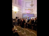 Выступление хора Гимназии №63 и участников турнира