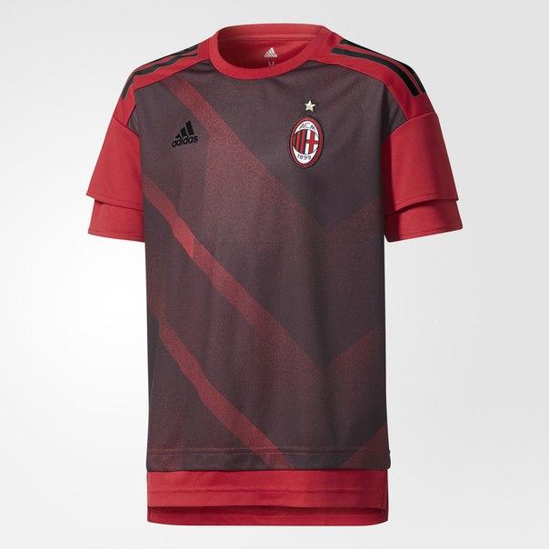 Предматчевая футболка ФК Милан Home