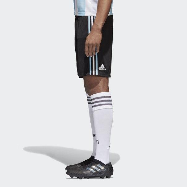 Домашние игровые шорты сборной Аргентины