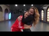 Танцы: Юля Гаффарова и Юлианна Кобцева - Антиподдержка (сезон 4, серия 22)