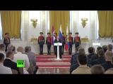 Путин вручает госнаграды российским военным