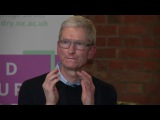 Apple CEO, Tim Cook Interview On Steve Jobs, AR, Heros, The Future