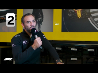 Renault's Cyril Abiteboul | F1 Grill The Grid Team Bosses