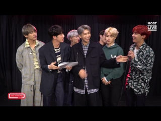 171208 BTS Tell The ARMY  The World What They Like To Eat On Tour @ Ask Anything Chat