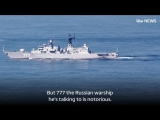With US and Russian warships playing cat and mouse on the open seas, are we seeing evidenc