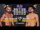 UFC FIGHT NIGHT 125 Deiveson Figueiredo vs. Joseph Morales