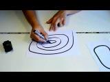 Идеи подарков: Умная машинка на индуктивном управлении - танк (видео обзор)