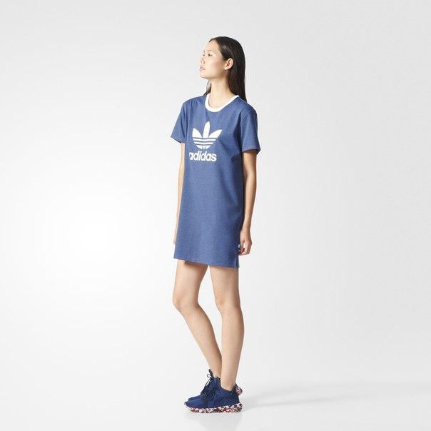 Платье-футболка Trefoil