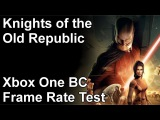 Knights of the Old Republic Xbox One vs Xbox 360 vs Xbox Backwards Compatibility Frame Rate Test