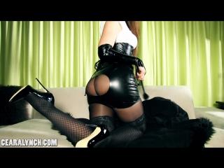 Ceara Lynch in black pantyhose [3788]