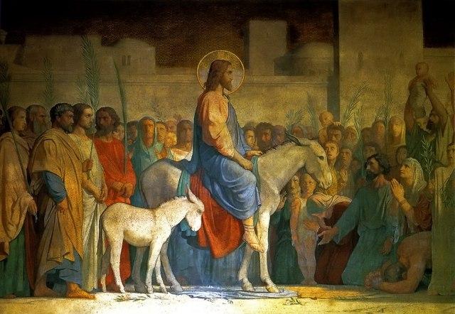 Вербное воскресенье: Христос оставляет завещание наследникам NdOrYwlNTmE