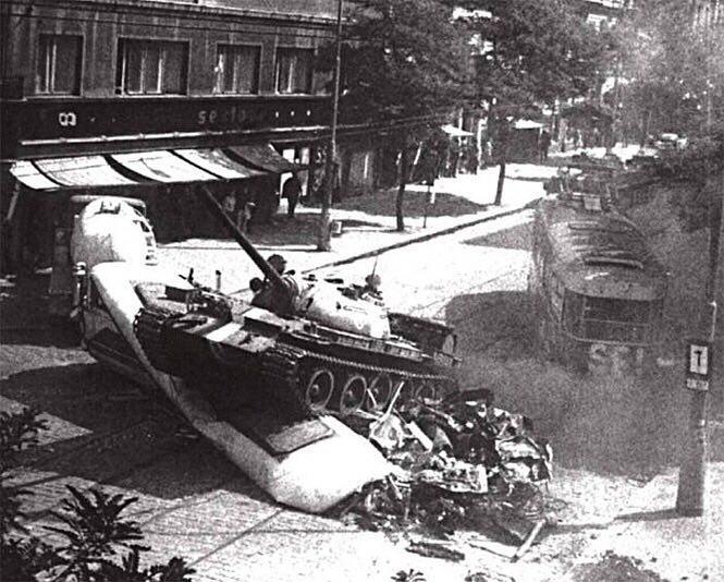 Прага, август 1968 года.