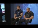 Александр Емельяненко и Иван Штырков в эфире ОТВ