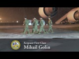 DIGNIFIED TRANSFER - Army Sgt 1st Class Mihail Golin