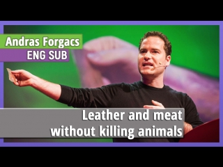 Andras Forgacs «Leather and meat without killing animals» [eng sub]