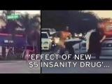 Naked Man Filmed Running Through City Streets (VIDEO)