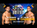 UFC Fight Night Полусредний вес Демьян Майя — Колби Ковингтон