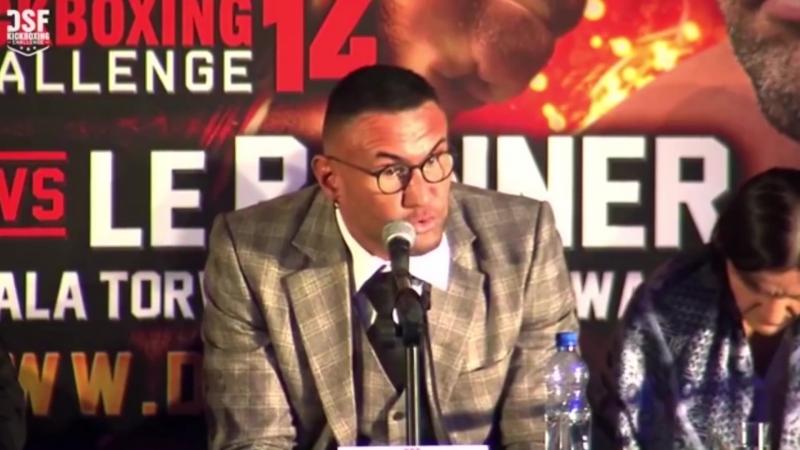 (Brutal...) Jerome LE BANNER détruit Patrice QUARTERON en conférence de presse du DSF