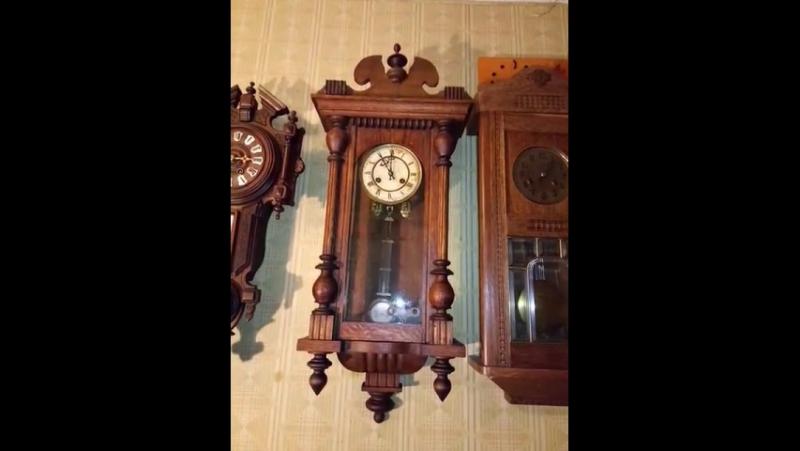 Настенные часы Junghans 1908 год