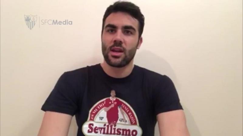 Mensajes de ánimo de Diego Capel, Cristoforo , Iborra y Escude