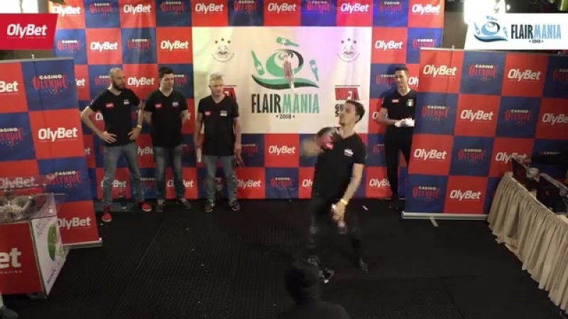 Ivan Usov OlyBet Flair Mania 2018 Big Ass Move