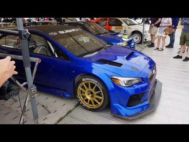 Subaru WRX STi Type RA NBR Special - Mark Higgins Goodwood Festival of Speed