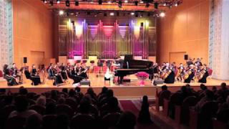 Альсана Сатылганова Ю Полунин Концертино для фортепиано с оркестром