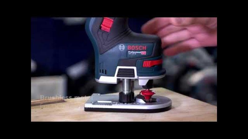 Bosch GKF 12V-8 Brushless Cordless Compact Router Trimmer - Eric Explains