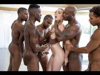 Kendra sunderland - orgy, gagbang, blowjob, big tits, natural, interracial