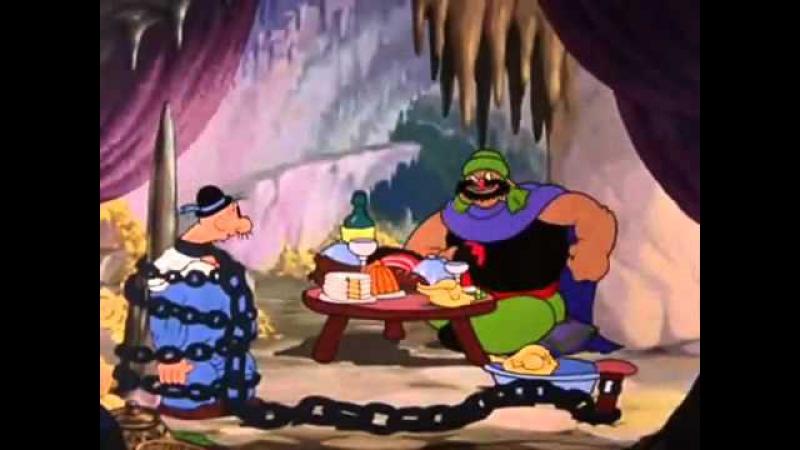 Морячок Папай - Али-баба и 40 разбойников....16:9/HD.720.p