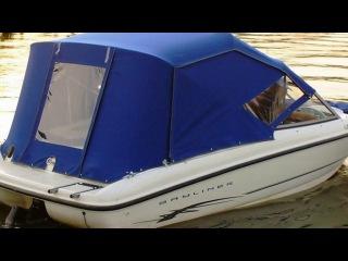 Изготовление тентов из мягкого стекла для катеров и яхт