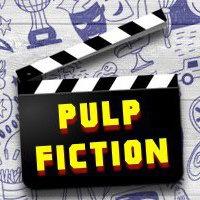 Логотип Pulp Fiction | кино викторина