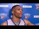Russell Westbrook Pregame Intreview OKC Thunder Nov 3rd