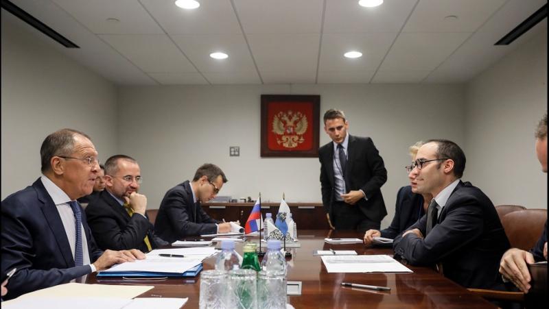 С.Лавров и Государственный секретарь Сан Марино по иностранным делам