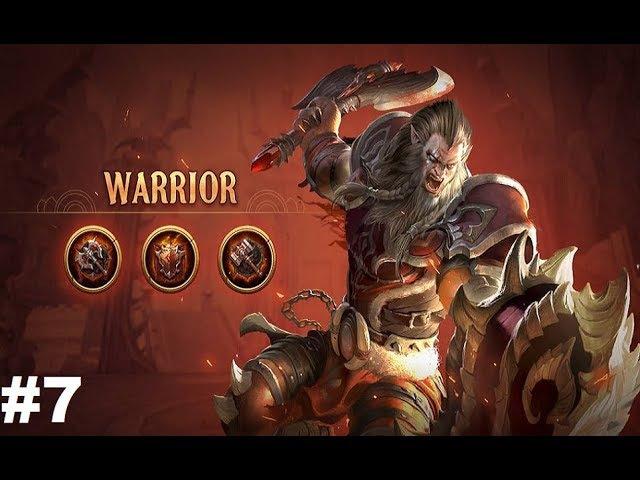 Crusaders of Light 7 Gameplay AndroidiOS Качаемся за Война и сражаемся на арене