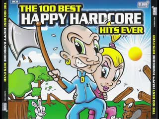 "Best happy hardcore hits ever [full album 157 16 min] _""hakkuh top 100_"" mix hd hq high quality"