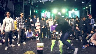 Zyko & Dykens VS Kento & P-Dog/ Free Spirit Festival China 2018 HIPHOP 2ON2 Final