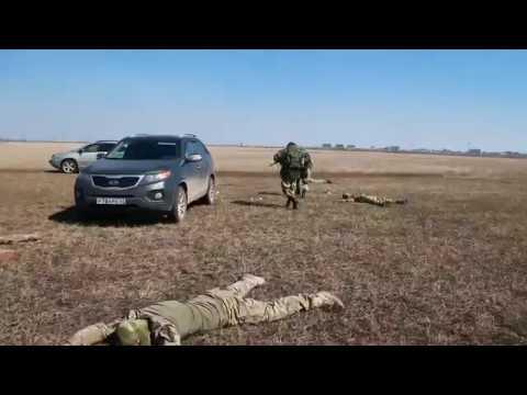«Лексус», «КИА» и «паджерик» не ушли от Ми-8! Спецназ на учениях под Самарой