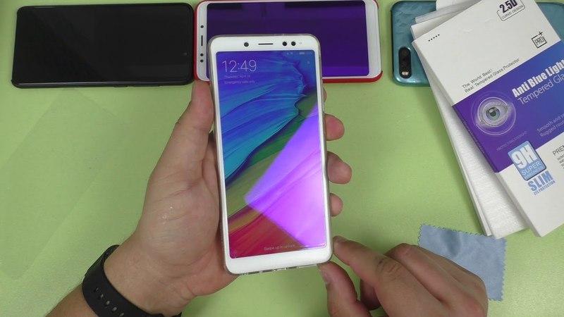 Защитное стекло Xiaomi Redmi Note 5 ► аналог Carkoci Bonaier KUPISHIK